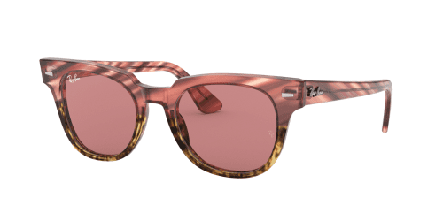 Ray-Ban Ray-Ban METEOR RB2168 1253U0 Pink Gradient Beige Striped