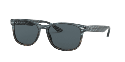 Ray-Ban Ray-Ban RB2184 1252R5 Blue Gradient Grey Striped