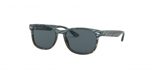 Ray-Ban RB2184 1252R5 Blue Gradient Grey Striped