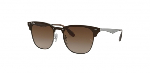 Ray-Ban BLAZE CLUBMASTER RB3576N RB 3576N 041/13 Gunmetal Striped
