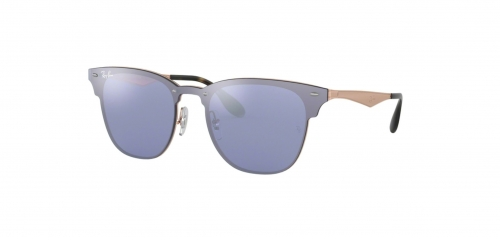 Ray-Ban BLAZE CLUBMASTER RB3576N RB 3576N 90391U Brushed Copper