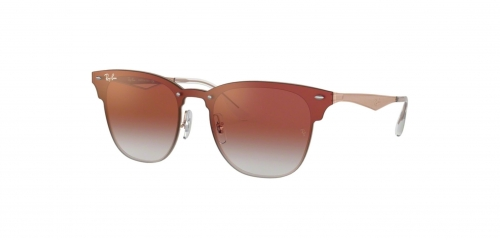 Ray-Ban BLAZE CLUBMASTER RB3576N RB 3576N 9039V0 Brushed Copper