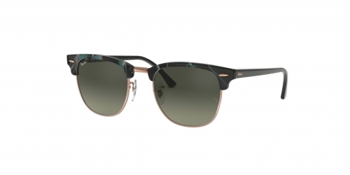 Ray-Ban Clubmaster RB3016 125571 Spotted Grey Green