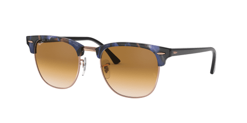 Ray-Ban Ray-Ban Clubmaster RB3016 125651 Spotted Brown Blue