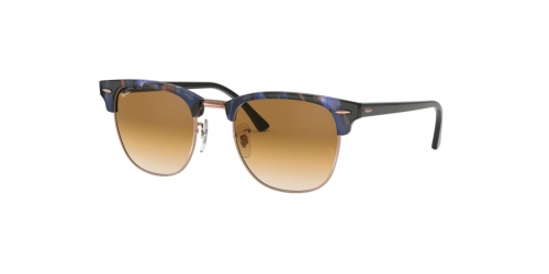 Clubmaster RB3016 Clubmaster RB 3016 125651 Spotted Brown Blue