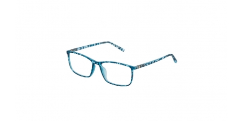 Police PERCEPTION 6 VPL255 VPL 255 049L Rubberized Blue Havana