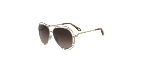 Chloe CARLINA CE134S CE 134S 791 Gold Havana Brown
