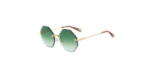 Chloe ROSIE CE143S CE 143S 836 Gold/Gradient Green