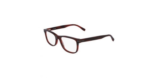 Lacoste L2841 L 2841 604 Striped Burgundy