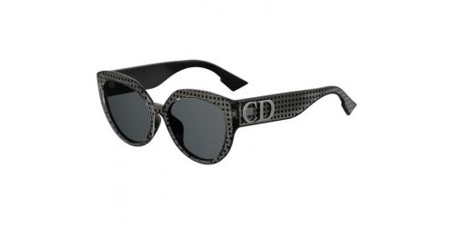 Christian Dior DDIORF DDIOR F PRN/2K Silver/Black