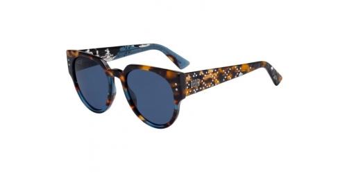 Christian Dior LADYDIORSTUDS3 LADYDIOR STUDS 3 JBW/KU Blue Havana