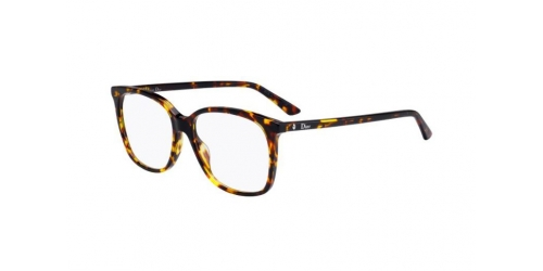 Christian Dior MONTAIGNE55 MONTAIGNE 55 P65 Brown Yellow Havana