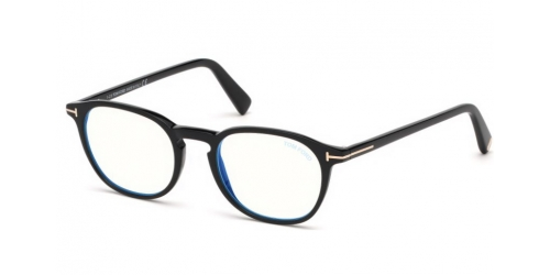 Tom Ford TF5583-B Blue Control TF 5583-B 001 Black