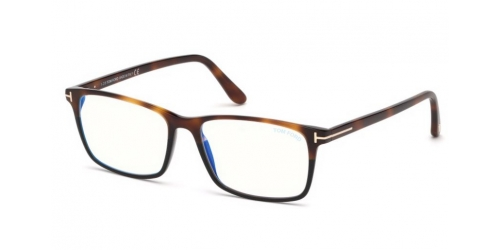 Tom Ford TF5584-B Blue Control TF 5584-B 053 Blonde Havana