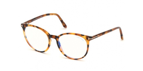 Tom Ford TF5575-B Blue Control TF 5575-B 056 Havana