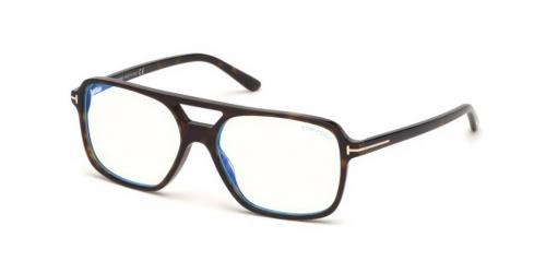 85de254cc8 Tom Ford TF5585-B Blue Control TF 5585-B 052 Dark Havana