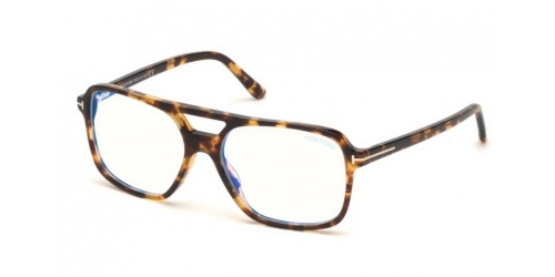 Tom Ford TF5585-B Blue Control TF 5585-B 053 Blonde Havana