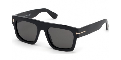 Tom Ford FAUSTO TF0711 01A Shiny Black