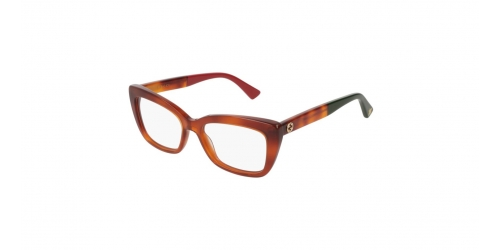 Gucci URBAN GG0165O GG 0165O 004 Light Havana