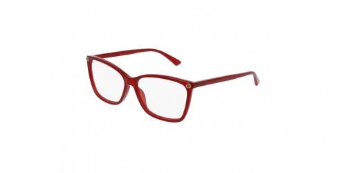 Gucci SENSUAL ROMANTIC GG0025O GG 0025O 004 Red
