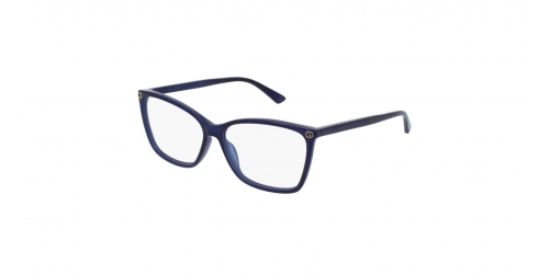 Gucci SENSUAL ROMANTIC GG0025O GG 0025O 005 Blue