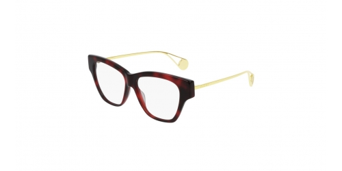 FASHION INSPIRED GG0438O FASHION INSPIRED GG 0438O 004 Red Havana/Gold