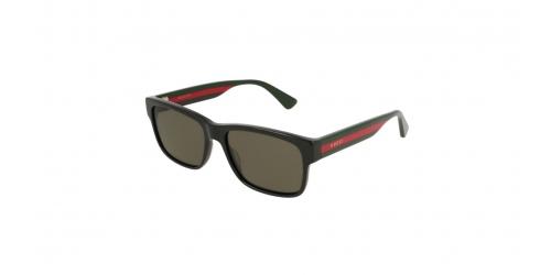 Gucci SENSUAL ROMANTIC GG0340S GG 0340S 002 Black