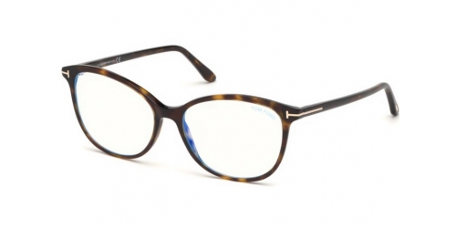 Tom Ford TF5576-B Blue Control TF 5576-B 052 Dark Havana