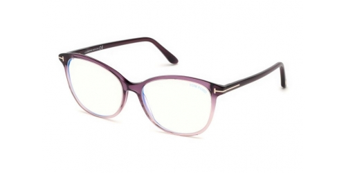 Tom Ford TF5576-B Blue Control TF 5576-B 083 Violet