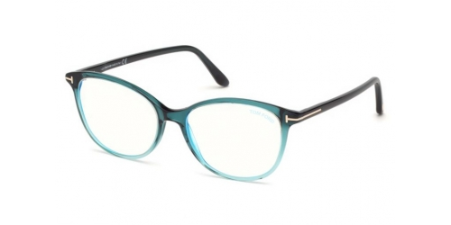 Tom Ford TF5576-B Blue Control TF 5576-B 089 Turquoise