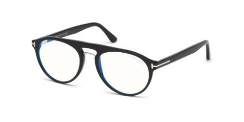 Tom Ford Tom Ford TF5587-B Blue Control TF 5587-B 001 Shiny Black