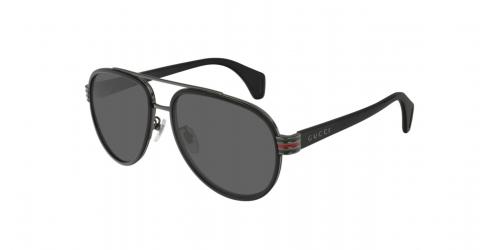 Gucci WEB GG0447S GG 0447S 001 Black