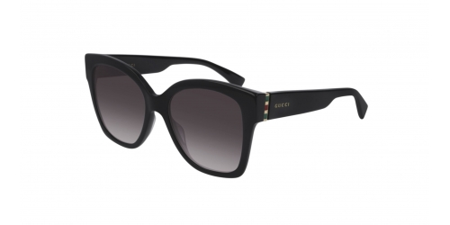 Gucci WEB GG0459S GG 0459S 001 Black