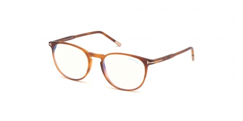 Tom Ford Tom Ford TF5608-B Blue Control TF 5608-B 053 Blonde Havana