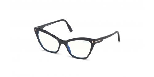 Tom Ford TF5601-B Blue Control TF 5601-B 001 Shiny Black