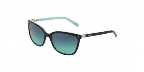 Tiffany TF4105HB TF 4105HB 81939S Black/Striped Blue