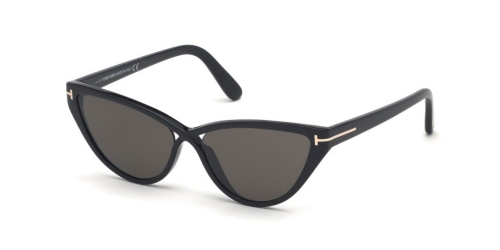 Tom Ford Tom Ford CHARLIE-02 TF0740 01A Shiny Black/Smoke