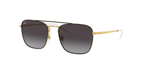 Ray-Ban RB3588 90548G Gold on Top Black