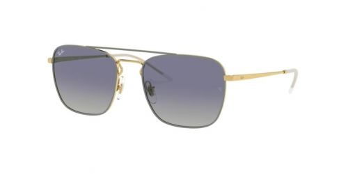 Ray-Ban RB3588 9063I9 Gold Top on Light Grey