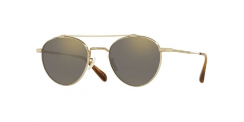 Oliver Peoples WATTS SUN OV1223ST OV 1223ST 5035Y9 Gold