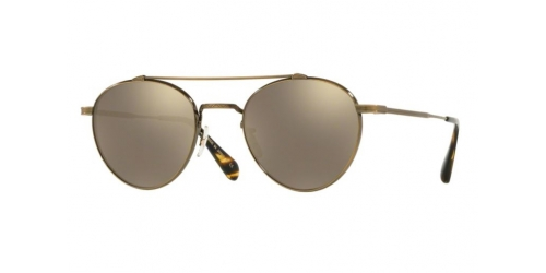 Oliver Peoples WATTS SUN JAPANESE TITANIUM OV 1223ST 51246G Antique Gold