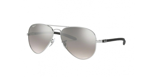 Ray-Ban RB8317CH RB 8317 CH 003/5J Shiny Silver