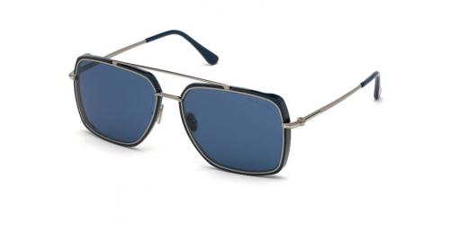 Tom Ford TF0750 90V Shiny Blue / Blue