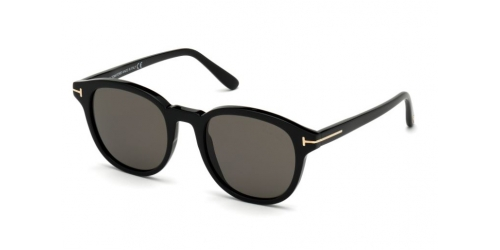 Tom Ford TF0752 01D Shiny Black / Smoke Polarised