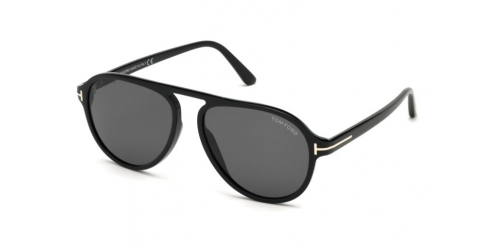 Tom Ford TF0756 01A Shiny Black / Smoke