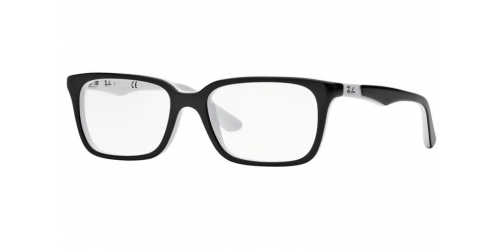Ray-Ban Kids Ray-Ban RY1532 3579 Top Black and White