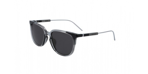 Calvin Klein CK19700S CK 19700S 072 Crystal Smoke/Black