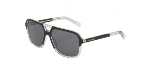 Dolce & Gabbana DG4354 501/81 Matte Black Polarized