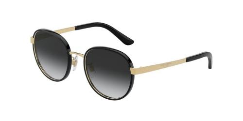 Dolce & Gabbana DG2227J DG 2227J 02/8G Black/Gold