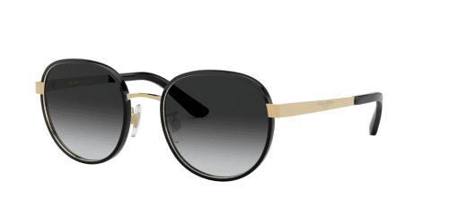 Dolce & Gabbana Dolce & Gabbana DG2227J DG 2227J 02/8G Black/Gold